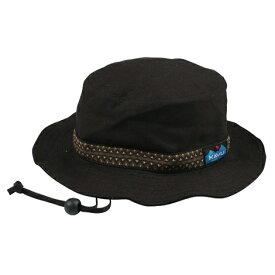 KAVU(カブー) ストラップバケットハット/Black/L 11863452アウトドアウェア キャップ・ハット ウェアアクセサリー メンズウェア 帽子 ブラック おうちキャンプ