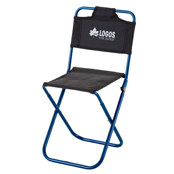 OUTDOOR LOGOS(ロゴス) 7075トレックチェア(背付)(ブルー) 73175006ブルー イス レジャーシート テーブル チェア コンパクトチェア アウトドアギア