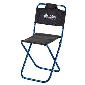OUTDOOR LOGOS(ロゴス) 7075トレックチェア(背付)/ブルー 73175006アウトドアギア コンパクトチェア チェア テーブル レジャーシート イス ブルー おうちキャンプ ベランピング