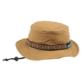 KAVU(カブー) ストラップバケットハット/Khaki/S 11863452アウトドアウェア キャップ・ハット ウェアアクセサリー メンズウェア 帽子 ベージュ おうちキャンプ