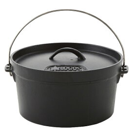OUTDOOR LOGOS(ロゴス) SLダッチオーブン10inch・ディープ(バッグ付) 81062229ダッチオーブン クッキング用品 バーべキュー ダッチオーブン10インチ アウトドアギア