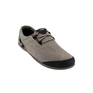 XEROSHOES(ゼロシューズ) HANAメンズ/キャロブ/M8.5 HAM-HCRBアウトドアギア スニーカー・ランニング アウトドアスポーツシューズ トレッキング 靴 ブーツ グレー 男性用 おうちキャンプ ベランピン