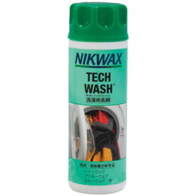 NIKWAX(ニクワックス) テックウォッシュ EBE181アウトドアウェア 洗剤 ウェアアクセサリー アウトドア 登山 トレッキング おうちキャンプ ベランピング