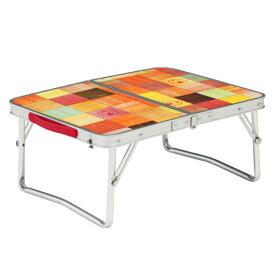 Coleman(コールマン) ナチュラルモザイクミニテーブル プラス 2000026756アウトドアギア ローテーブル レジャーシート おうちキャンプ ベランピング