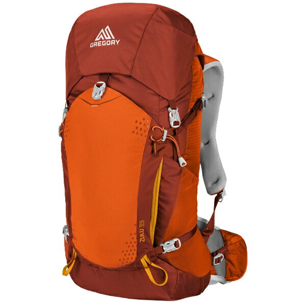 GREGORY(グレゴリー) ズール35/バーニッシュドオレンジ/M 68432オレンジ リュック バックパック バッグ トレッキングパック トレッキング30 アウトドアギア