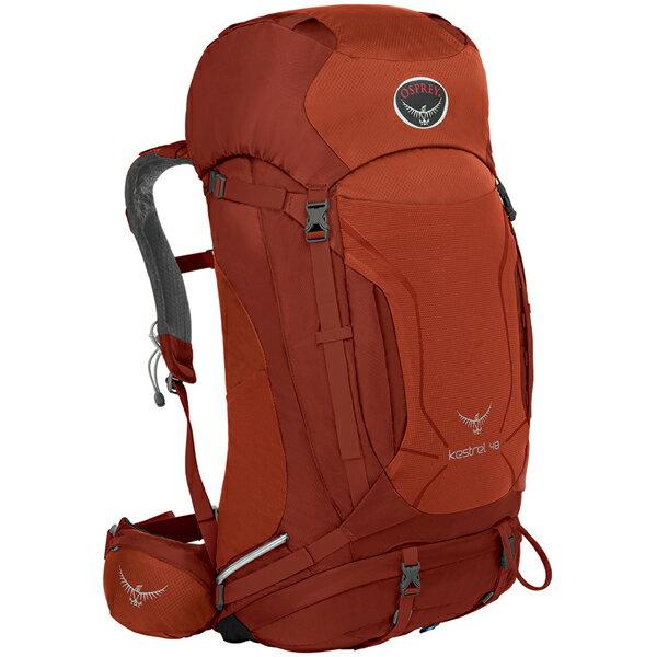 OSPREY(オスプレー) ケストレル 38/ドラゴンレッド/M/L OS50151オレンジ リュック バックパック バッグ トレッキングパック トレッキング40 アウトドアギア