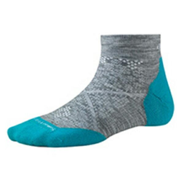 SmartWool(スマートウール) Ws PhDランライトエリートローカット/ライトグレー/M SW70509女性用 グレー 靴下 メンズウェア ウェア ソックス ウール アウトドアウェア