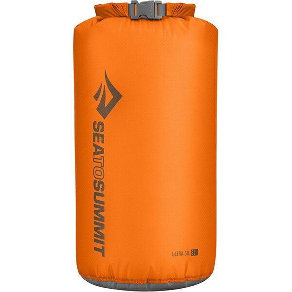 SEA TO SUMMIT(シートゥーサミット) ウルトラシル ドライサック/オレンジ/8L ST83014オレンジ ウルトラシル ドライサック バッグ アウトドア アウトドア 防水バッグ・マップケース ドライバッグ アウトドアギア