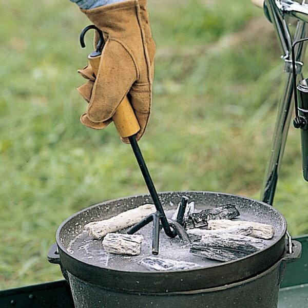 OUTDOOR LOGOS(ロゴス) ウッドグリップリフター 81062202ダッチオーブン クッキング用品 バーべキュー リフター リフター アウトドアギア
