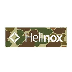Helinox Home(ヘリノックス ホーム) BOXステッカー ダックカモ 19759024アウトドアギア スキー スノーボード用アクセサリー ステッカー カモフラージュ おうちキャンプ