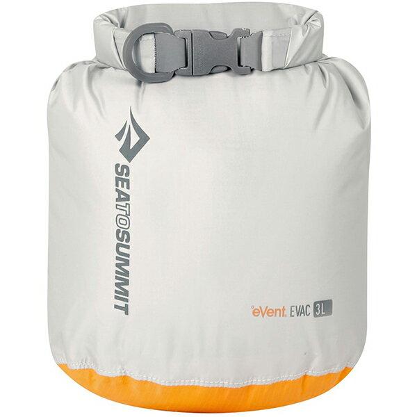 SEA TO SUMMIT(シートゥーサミット) eVac ドライサック/グレー/3L ST83041グレー バッグ アウトドア アウトドア 防水バッグ・マップケース ドライバッグ アウトドアギア