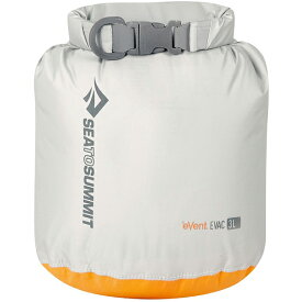 SEA TO SUMMIT(シートゥーサミット) eVac ドライサック/グレー/3L ST83041グレー ダイビングバッグ シュノーケリング ダイビング 防水バッグ・マップケース ドライバッグ アウトドアギア