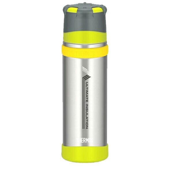 ★エントリーでポイント5倍THERMOS(サーモス) 新製品「山専ボトル」ステンレスボトル/0.5L/ライムグリーン(LMG)」 FFX-500山専用ボトル マグボトル 水筒 水筒 保温・保冷ボトル アウトドアギア