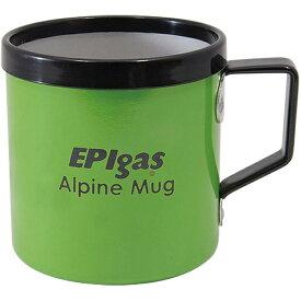 EPI(イーピーアイ) EPIアルパインマグカップ グリーン C-5123アウトドアギア テーブルウェア(カップ) テーブルウェア アウトドア キャンプ用食器 カップ グリーン おうちキャンプ