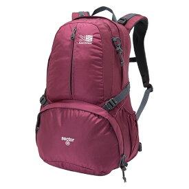 karrimor(カリマー) セクター 25/アマランス 501008-3120アウトドアギア トレッキング20 トレッキングパック バッグ バックパック リュック おうちキャンプ