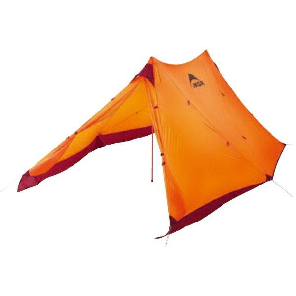 MSR(エムエスアール) ツインシスターズ 37548オレンジ 二人用(2人用) テント タープ シェルター シェルター アウトドアギア