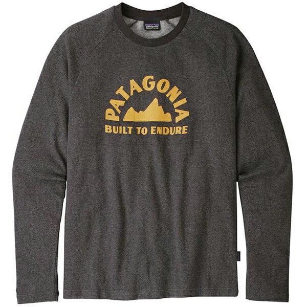 patagonia(パタゴニア) Ms Geologers LW Crew Sweatshirt/BLK/M 39531男性用 ブラック トレーナー スウェット トップス スウェット男性用 アウトドアウェア