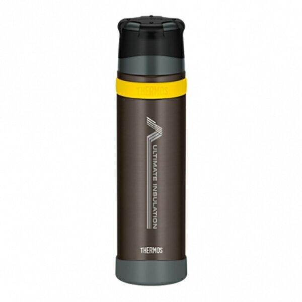 THERMOS(サーモス) 新製品「山専ボトル」ステンレスボトル/0.9L/ブラック(BK) FFX-900ブラック 山専用ボトル マグボトル 水筒 水筒 保温・保冷ボトル アウトドアギア