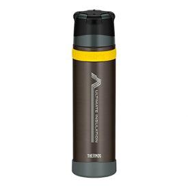 THERMOS(サーモス) 「山専ボトル」ステンレスボトル/0.9L/ブラック(BK) FFX-900ブラック 山専用ボトル マグボトル 水筒 水筒 保温・保冷ボトル アウトドアギア
