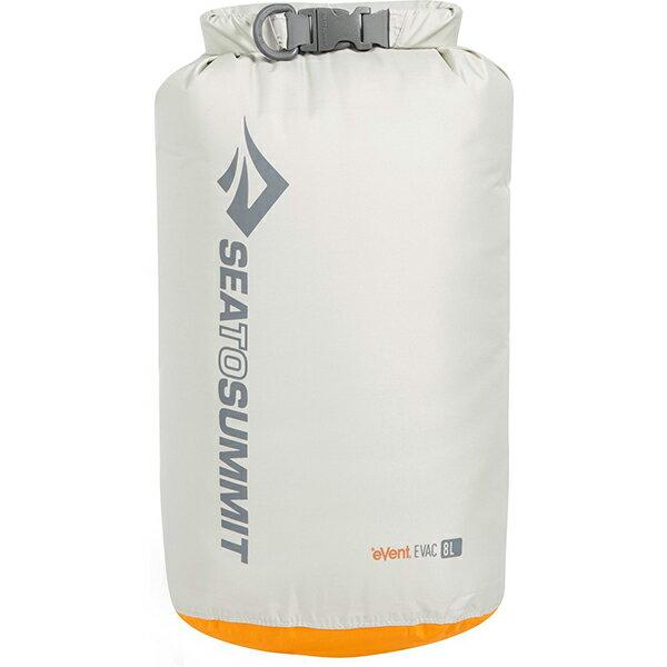 SEA TO SUMMIT(シートゥーサミット) eVac ドライサック/グレー/8L ST83043グレー バッグ アウトドア アウトドア 防水バッグ・マップケース ドライバッグ アウトドアギア