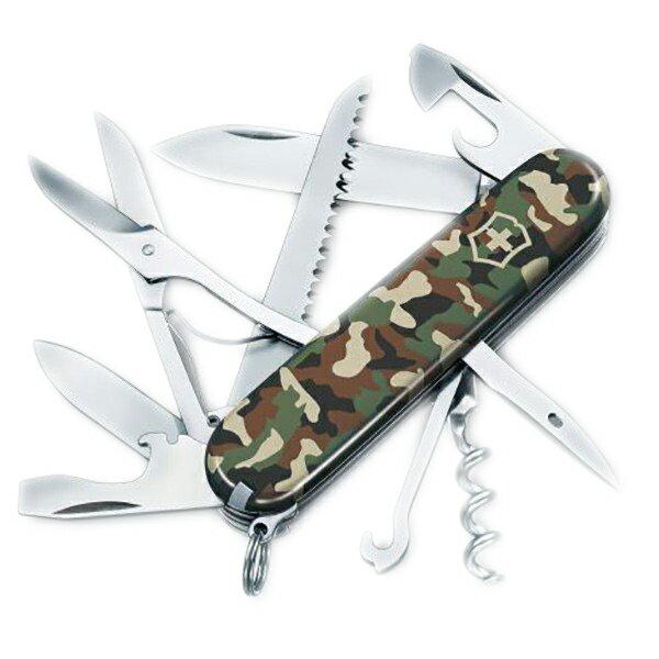 Victorinox Swiss Army(ビクトリノックス) ハントマンカモフラージュ 63060カモフラージュ 十徳ナイフ マルチツール マルチツール ツールナイフ アウトドアギア