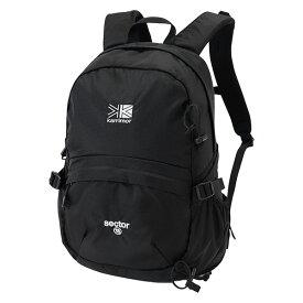 karrimor(カリマー) セクター 18/ブラック 501009-9000アウトドアギア トレッキング小型 トレッキングパック バッグ バックパック リュック ブラック おうちキャンプ
