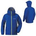 mont-bell(モンベル) ストームクルーザージャケット Mens/PRBL/L 1128531男性用 ブルー レインジャケット レインウェア ウェア レイ...