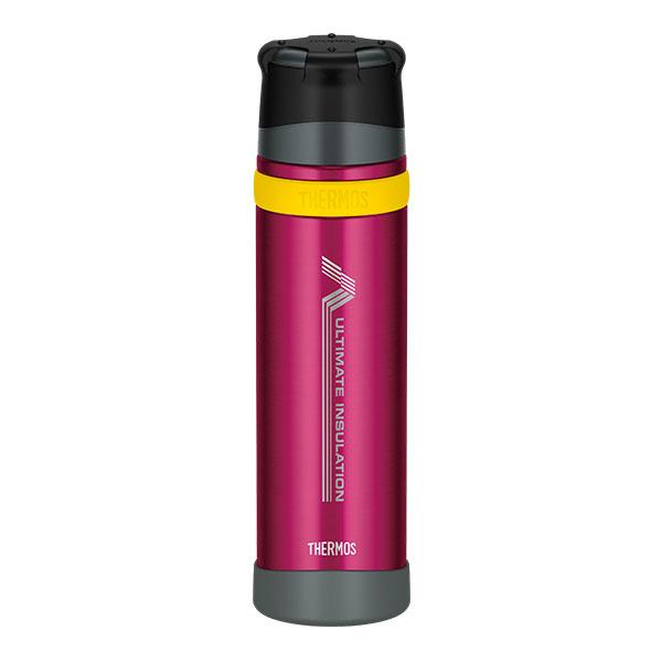 THERMOS(サーモス) 新製品「山専ボトル」ステンレスボトル/0.9L/バーガンディー(BGD) FFX-900山専用ボトル マグボトル 水筒 水筒 保温・保冷ボトル アウトドアギア