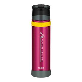 ★エントリーでポイント10倍!THERMOS(サーモス) 「山専ボトル」ステンレスボトル/0.9L/バーガンディー(BGD) FFX-900アウトドアギア 保温・保冷ボトル 水筒 マグボトル 山専用ボトル