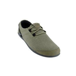 XEROSHOES(ゼロシューズ) HANAメンズ/バーントオリーブ/M8 HAM-HOLVアウトドアギア スニーカー・ランニング アウトドアスポーツシューズ トレッキング 靴 ブーツ グリーン 男性用 おうちキャンプ
