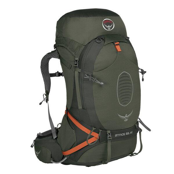 OSPREY(オスプレー) アトモスAG 65/グラファイトグレー/L OS50190グレー リュック バックパック バッグ トレッキングパック トレッキング70 アウトドアギア