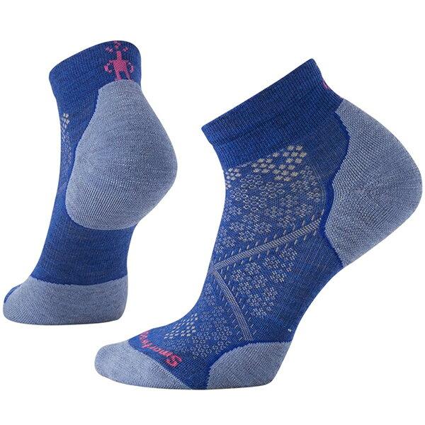 SmartWool(スマートウール) Ws PhDランライトエリートローカット/ダークブルー(new)/S SW70509女性用 ブルー 靴下 メンズウェア ウェア ソックス 化繊 アウトドアウェア