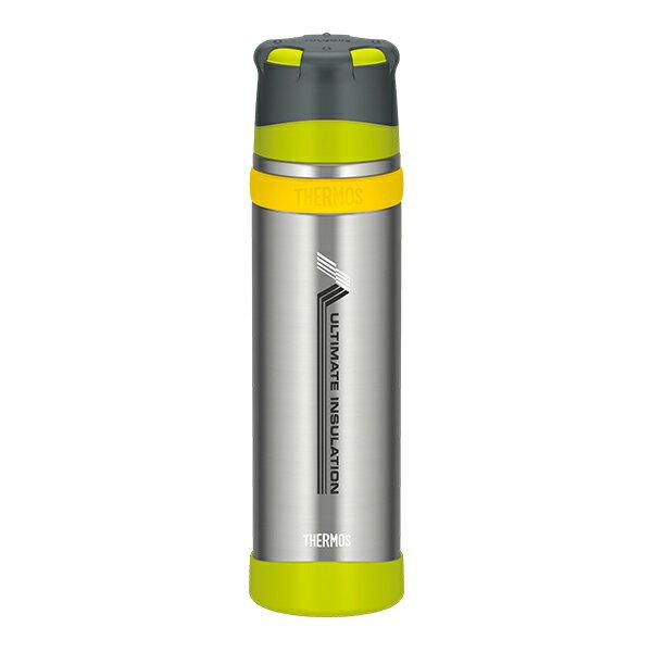 THERMOS(サーモス) 新製品「山専ボトル」ステンレスボトル/0.9L/ライムグリーン(LMG) FFX-900山専用ボトル マグボトル 水筒 水筒 保温・保冷ボトル アウトドアギア