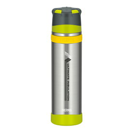 THERMOS(サーモス) 「山専ボトル」ステンレスボトル/0.9L/ライムグリーン(LMG) FFX-900山専用ボトル マグボトル 水筒 水筒 保温・保冷ボトル アウトドアギア