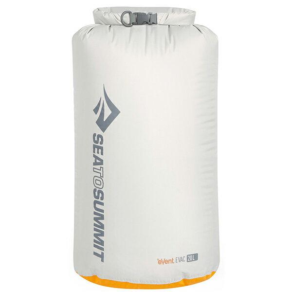 SEA TO SUMMIT(シートゥーサミット) eVac ドライサック/グレー/20L ST83045グレー バッグ アウトドア アウトドア 防水バッグ・マップケース ドライバッグ アウトドアギア