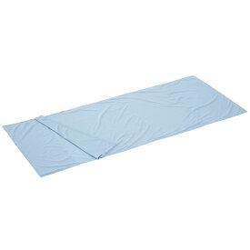 OUTDOOR LOGOS(ロゴス) シルキーインナーシュラフ(ブルー) 72600320アウトドアギア スリーピングバッグインナー アウトドア用寝具 インナーシーツ ブルー おうちキャンプ