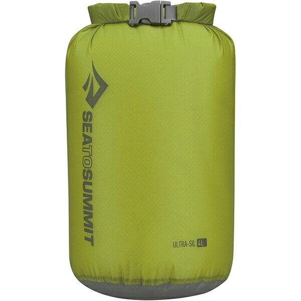 SEA TO SUMMIT(シートゥーサミット) ウルトラシル ドライサック/グリーン/4L ST83013グリーン ウルトラシル ドライサック バッグ アウトドア アウトドア 防水バッグ・マップケース ドライバッグ アウトドアギア