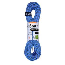BEAL(ベアール) 8.6mm コブラ2 ユニコア 60m ゴールデンドライ/ブルー BE11031ブルー アウトドア アウトドア スポーツ ロープ ダブルロープ アウトドアギア