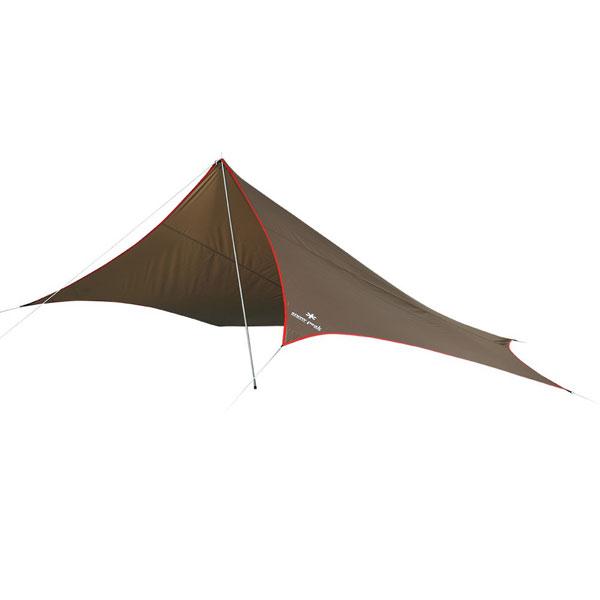 snow peak(スノーピーク) ライトタープペンタシールド STP-381一人用(1人用) タープ タープ テント ヘキサ・ウイング型タープ ヘキサ・ウイング型タープ アウトドアギア