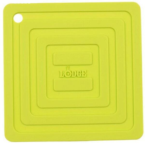LODGE(ロッジ) [正規品]LDG シリコンスクエアポットホルダーGR AS6S51 19240094ダッチオーブン クッキング用品 バーべキュー アウトドアギア