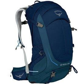 OSPREY(オスプレー) ストラトス 34/エクリプスブルー/S/M OS50302002004アウトドアギア トレッキング30 トレッキングパック バッグ バックパック リュック ブルー 男性用 おうちキャンプ