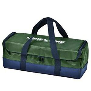 UNIFLAME(ユニフレーム) キッチンツールBOX/カーキグリーン 662519アウトドアギア クッキング収納バッグ クッキング用品収納バッグ アウトドア 燃料 グリーン おうちキャンプ ベランピング
