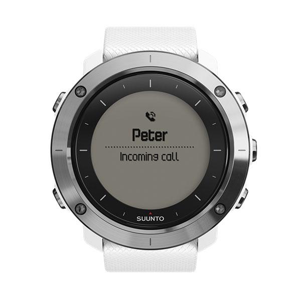 SUUNTO(スント) 正規品・2年保証 TRAVERSE WHITE(トラバース ホワイト) SS021842000ホワイト 男女兼用腕時計 腕時計 高機能ウォッチ アウトドアギア