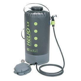 NEMO(ニーモ・イクイップメント) ヘリオLX プレッシャーシャワー NM-HELX-BKアウトドアギア サーフィン ボディボード 携帯用シャワー おうちキャンプ ベランピング