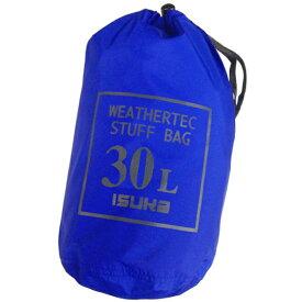ISUKA(イスカ) ウェザーテック スタッフバッグ 30L/ロイヤルブルー 353512ブルー アクセサリーポーチ バッグ アウトドア スタッフバッグ スタッフバッグ アウトドアギア