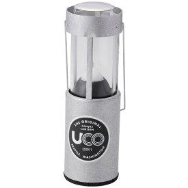 UCO(ユーコ) キャンドルランタン/アルミ 24353アウトドアギア ランタン灯油 ライト ランタン シルバー おうちキャンプ ベランピング