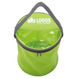OUTDOOR LOGOS(ロゴス) アクアFDバケツ 88230160アウトドアギア ウォーターコンテナ 水筒 マグボトル おうちキャンプ ベランピング