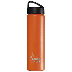 LAKEN(ラーケン) クラシック・サーモ0.75L オレンジ PL-TA7Oオレンジ マグボトル 水筒 水筒 保温・保冷ボトル アウトドアギア