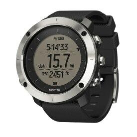 SUUNTO(スント) [正規品・2年保証]TRAVERSE BLACK(トラバース ブラック) SS021843000アウトドアギア 高機能ウォッチ メンズ腕時計 ブラック おうちキャンプ
