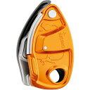 PETZL(ペツル) グリグリ+ オレンジ D13AAGオレンジ ビレイ機 トレッキング 登山 ディッセンダー 確保器 アウトドアギア